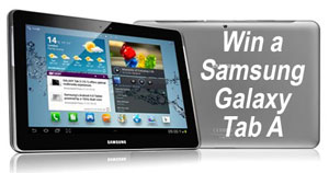 Win a Samsung Galaxy Tablet